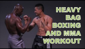 Heavy Bag Boxing Workout for Cardio and Endurance with Funk Roberts