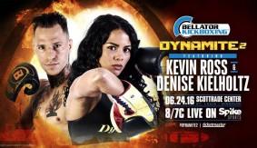Denise Kielholtz, Kevin Ross Added to Kickboxing Bouts at Bellator: Dynamite 2 on June 24