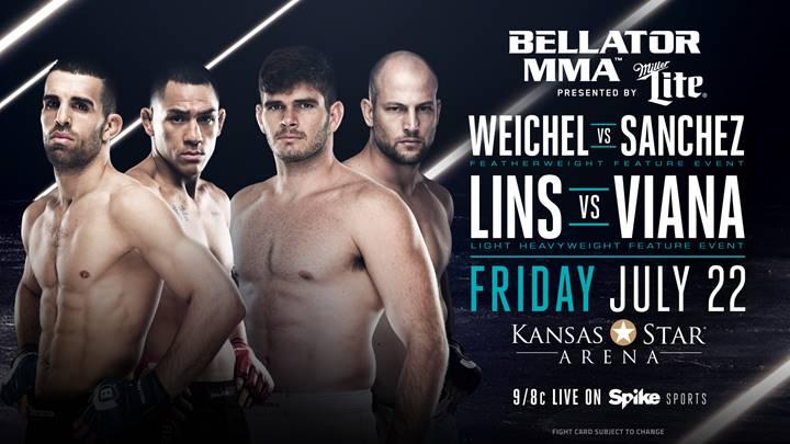 Daniel Weichel vs. Emmanuel Sanchez & More Added to Bellator 159 on July 22