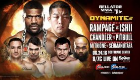 Bellator: Dynamite 2 Conference Call Audio Replay w/ Rampage, Ishii, Chandler, Patricky Pitbull, Mitrione & More