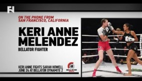Keri Melendez 'Getting Used to' The Media Leading into Bellator: Dynamite 2