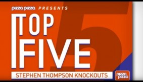 "Top 5 – Stephen ""Wonderboy"" Thompson Knockouts"