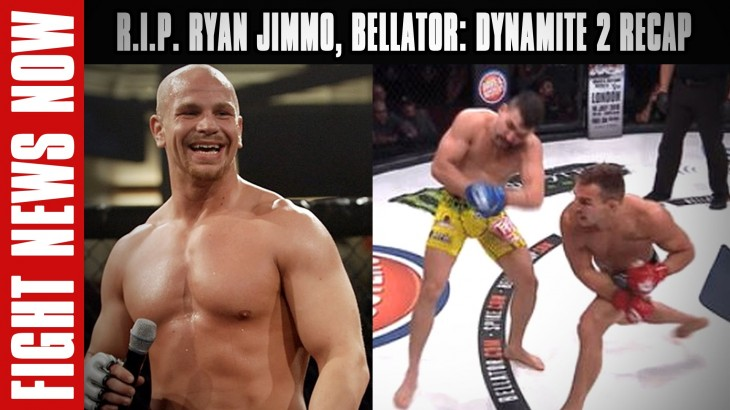 R.I.P. Ryan Jimmo, Bellator: Dynamite 2 Recap: Rampage, Chandler & Kato with Wins on Fight News Now