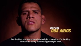 "Rafael Dos Anjos: ""I'm Looking Forward to Being the Best Lightweight Ever"""