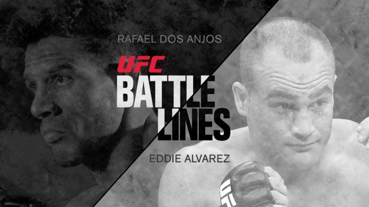 Rafael Dos Anjos vs. Eddie Alvarez Preview in UFC Battle Lines – See UFC Fight Night Las Vegas LIVE July 7 on FN Canada