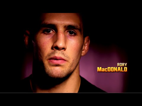 Rory MacDonald Training with GLORY Contender Raymond Daniels in Stephen Thompson Preparation