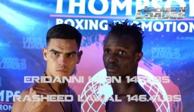 Thompson Boxing: Locked N' Loaded: Mitchell vs. Mendoza Weigh-in Video Recap & Results