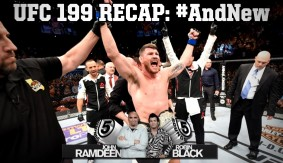 UFC 199 Recap: Michael Bisping Knocks Out Luke Rockhold to Claim the Middleweight Title on 5 Rounds