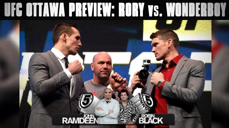 UFC Fight Night Ottawa Preview: MacDonald vs. Thompson & Cerrone vs. Cote on 5 Rounds
