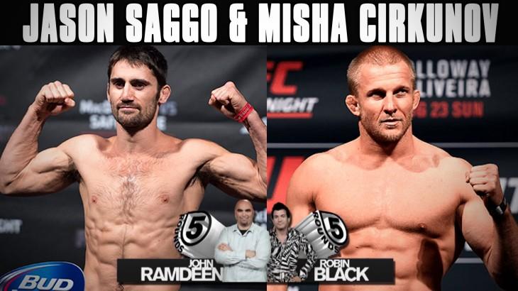 UFC Ottawa: Jason Saggo & Misha Cirkunov Previews LIVE on Fight Network Canada on 5 Rounds