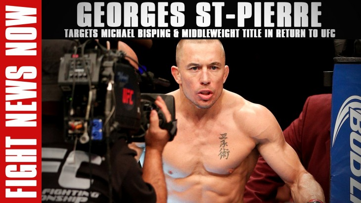 UFC Reportedly Accepts Bid for $4.2 Billion, Georges St-Pierre's Return on Fight News Now
