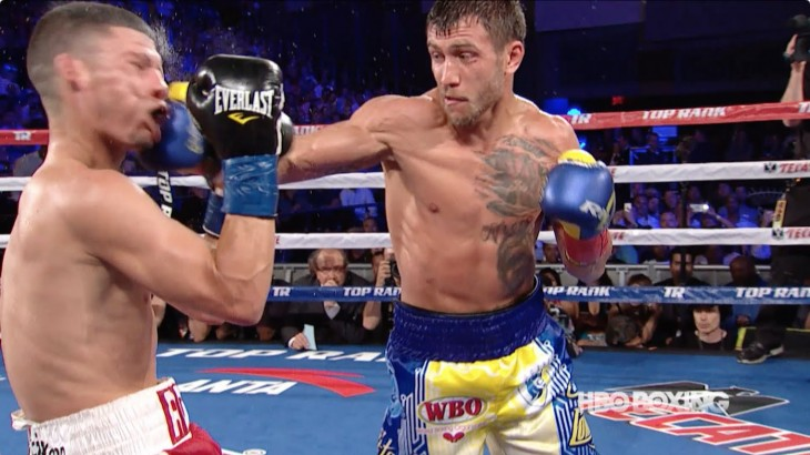 Video Highlights & Results – Vasyl Lomachenko Knocks Out Rocky Martinez to Claim WBO Super Featherweight Title