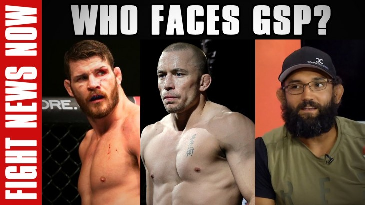 Who Faces Georges St-Pierre in His UFC Return?, Johny Hendricks vs. Kelvin Gastelum Preview on Fight News Now