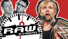 WWE RAW in 3 MINUTES 6/20/16 | Dean Ambrose Celebrates, The Club Apologizes to John Cena