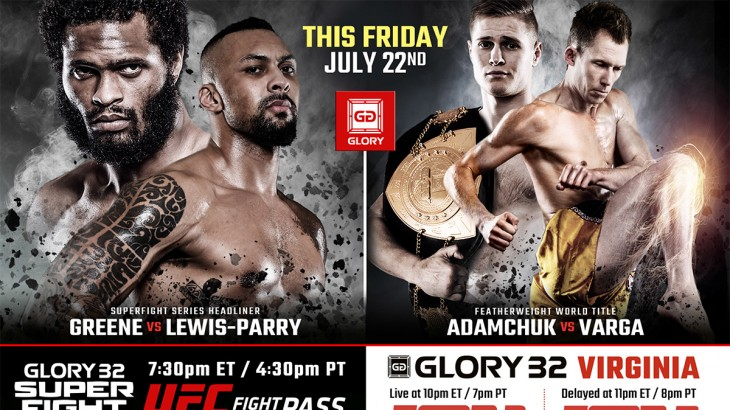 GLORY 32 Virginia & SuperFight Series Weigh-in Results, Video Replay & Photos