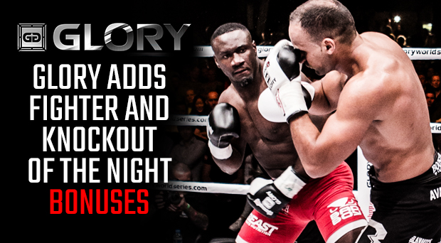 GLORY 32 Virginia to Debut 'Fighter of the Night' and 'Knockout of the Night' Bonuses