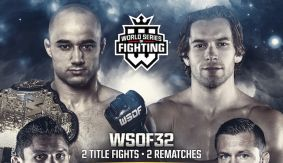 Shamil Gamzatov vs. Louis Taylor Completes WSOF 32 Main Card on July 30 LIVE on Fight Network