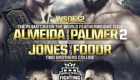Brother vs. Brother, Almeida vs. Palmer Rematch Set for WSOF 32 on July 30 in Everett