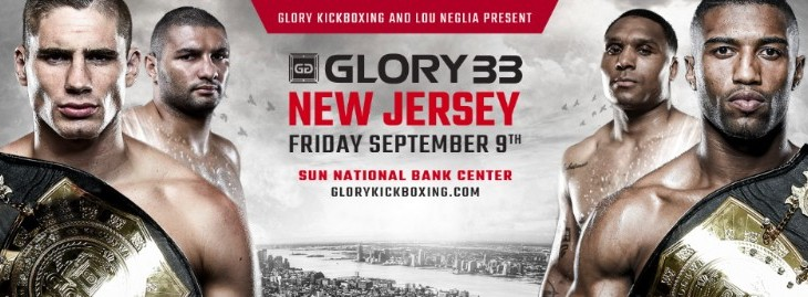 Rico Verhoeven vs. Anderson Silva & Simon Marcus vs. Jason Wilnis Set For GLORY 33 New Jersey on Sept. 9