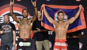 Bellator 159: Caldwell vs. Taimanglo Weigh-in Results, Video Replay & Photos