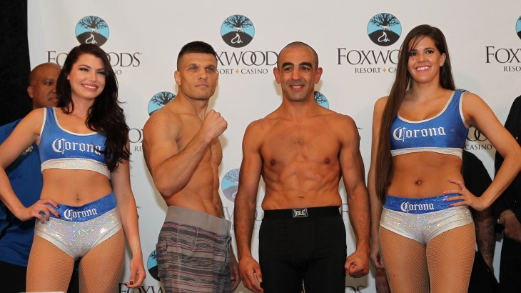 PBC on ESPN: Derevyanchenko vs. Soliman Weigh-in Results & Photos