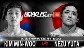 Min Woo Kim vs. Yuta Nezu Added to ROAD FC 033 on September 10 in China