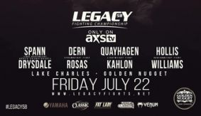 Legacy FC 58: Drysdale vs. Spann Weigh-in Results