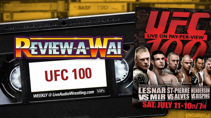 Review-A-Wai – UFC 100 (Brock Lesnar vs. Frank Mir II)