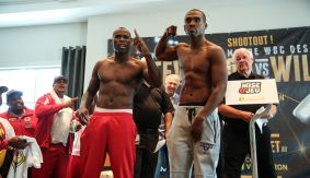 PBC on Spike: Adonis Stevenson vs. Thomas Williams Jr. Weigh-in Results, Photos & Quotes