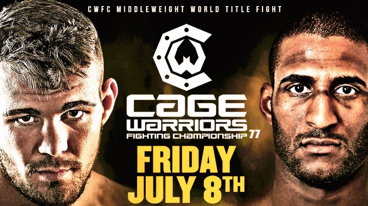 Jack Marshman vs. Christopher Jacquelin Middleweight Title Bout Set for Cage Warriors on July 8 in London