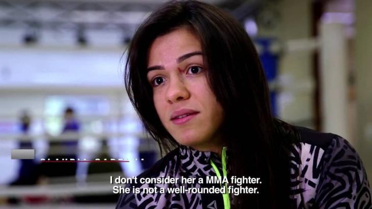 "Claudia Gadelha on Joanna Jedrzejczyk: ""I'm The Right Person to Beat Her"""