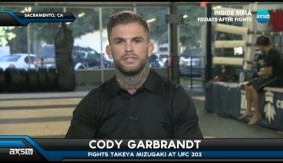 "Cody Garbrandt on Dominick Cruz: ""He's Either Trying to Get Out of The Division or Retire Before He Fights Me"""