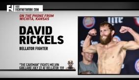 "David Rickels on Bellator 159, Training at Elevation Fight Team – ""Had to Change the Caveman Ways"""