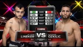 Full Fight – John Lineker vs. Alptekin Ozkilic from UFC Fight Night New Jersey