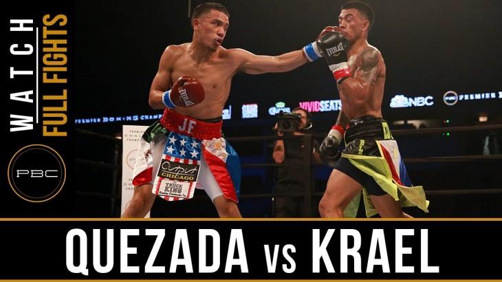 Full Fight – Jose Felix Quezada vs. Cameron Kreal at PBC on NBCSN