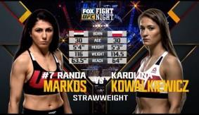 Full Fight – Karolina Kowalkiewicz vs. Randa Markos from UFC Fight Night Orlando