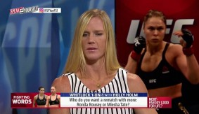 Holly Holm Speaks on Rematching Ronda Rousey & Miesha Tate on 'Speak For Yourself'