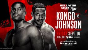 Three Bouts Added to Bellator 161: Kongo vs. Johnson Preliminary Card on Sept. 16 in Cedar Park