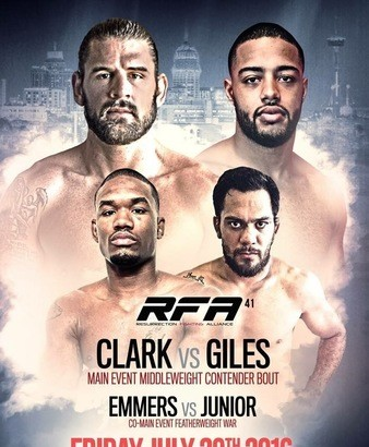 RFA 41: Clark vs. Giles Official Weigh-in Results