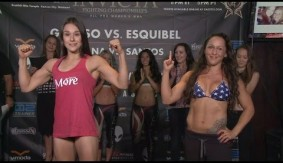 Invicta FC 18: Grasso vs. Esquibel Weigh-in Results, Video Replay & Photos
