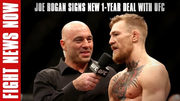 Joe Rogan Signs New 1-Year Deal with UFC & More on Fight News Now