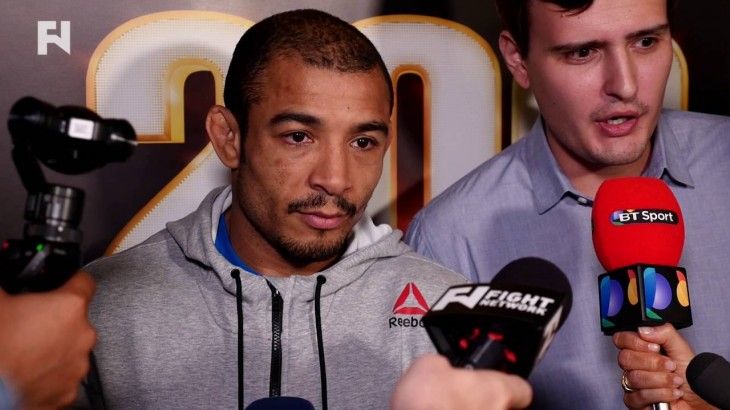 "Jose Aldo on Frankie Edgar Rematch, UFC 200 Additions and More – ""Can't Dwell in the Past"""