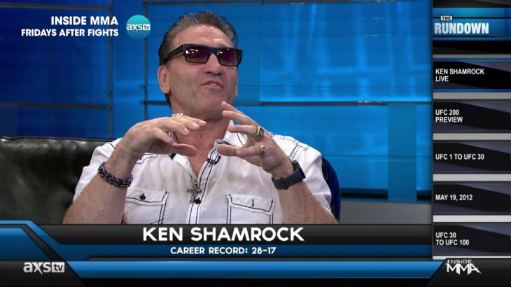 Ken Shamrock on UFC 1 & Jon Jones Cancellation at UFC 200