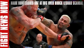 Mark Hunt Angry with UFC Over Brock Lesnar Situation at UFC 200 on Fight News Now