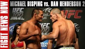 Michael Bisping vs. Dan Henderson 2, GSP Return Delayed? on Fight News Now