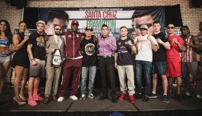 Leo Santa Cruz vs. Carl Frampton Final Press Conference Quotes & Photos