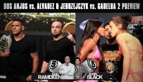 Rafael dos Anjos vs. Eddie Alvarez & Joanna Jedrzejczk vs. Claudia Gadelha 2 Preview on 5 Rounds