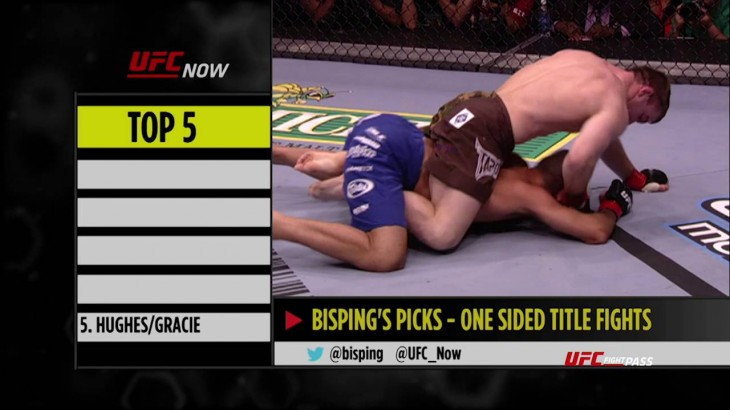 Top 5 One-Sided Title Fights in the UFC from Kenny Florian & Michael Bisping