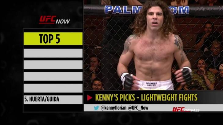 Top 5 UFC Lighweight Bouts from Demetrious Johnson, Kenny Florian & Megan Olivi