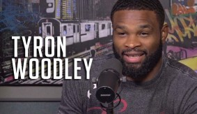 Tyron Woodley Discusses UFC 201 Bout vs. Robbie Lawler, Brock Lesnar at UFC 200 with Peter Rosenberg on HOT 97